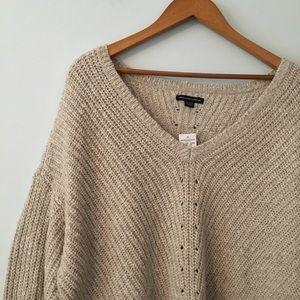 American eagle side zip sweater